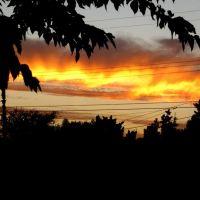 sunset at glendora., Глендора