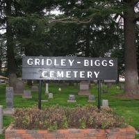 Gridley-Biggs Cemetery, Гридли