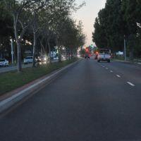Street view of Paramount Blvd, Дауни