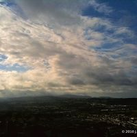 Daly City from Mt. San Bruno; Montara Peak & Storms Beyond, Дейли-Сити