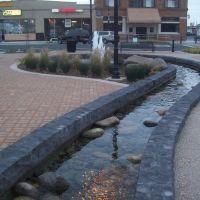 Downtown Riverbank Fountain, Дель-Ри