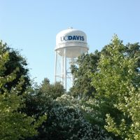 UC Davis Water Tower, Дэвис