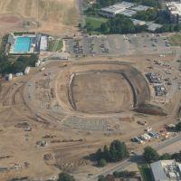 Starting construction of the new UC Davis Football Stadium, Дэвис