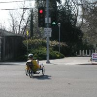 Bicycle-specific traffic signals in Davis, California, Дэвис
