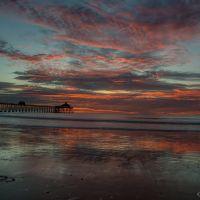 Sunset Imperial Beach Pier, Империал-Бич