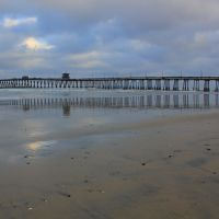 Early Morning at Imperial Beach Pier, Империал-Бич