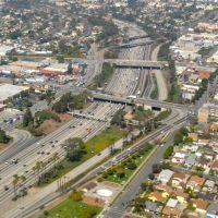 I-405 near LAX, Инглвуд