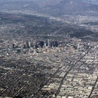 LA Looking NE at Pasadena, November 2008, Ист-Комптон