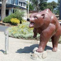 The World Famous Talking Bear at Oakhurst, CA, Ист-Лос-Анжелес