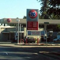 Palo Alto, CA gas station, Ист-Пало-Альто