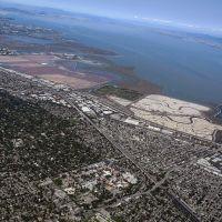 Saltwater Evaporation Ponds, Bayshore Fwy, Menlo Park, Kalifornien 94025, Vereinigte Staaten, Ист-Пало-Альто
