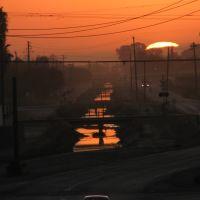 Central Avenue Sunset, Истон