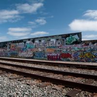 The Local Taggers Artwork, S. Railroad near Van Ness Ave, 4/2011, Калва