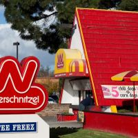 Wienerschnitzel on Bascom Ave, Campbell, Кампбелл