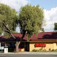 Dennys on Bascom Ave, Campbell, Кампбелл