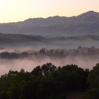 Rolling Fog, Sulphur Mountain, Каситас-Спрингс