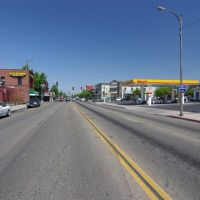 Looking North on Clovis Ave, Clovis, CA, 4/08, Кловис