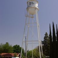Clovis Water Tower, Clovis, CA, 4/08, Кловис
