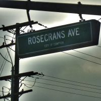 Rosecrans Avenue Compton by David Thornell, Комптон
