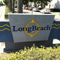 Long Beach City Sign, Комптон