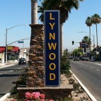 Lynwood City Sign, Комптон