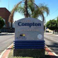 Compton City Sign, Комптон