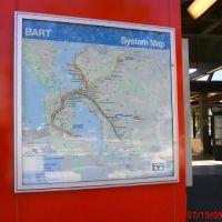 BART map, Конкорд