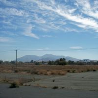Mount Diablo from Concord Naval Weapons Station Airfield, Конкорд