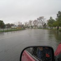 Driving the car thru the flooded Olivera Road, Конкорд