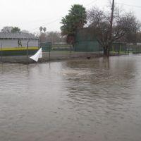 Drainage hole for flooding on Olivera Road, Конкорд