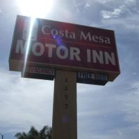 Costa Mesa Motor Inn (Street Marquee), Коста-Меса