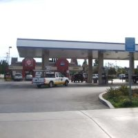 Arco Gas Station and Quick Stuff store with a Jack In the Box 2602 Newport Blvd Costa Mesa, CA, 92627, Коста-Меса