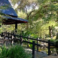 Descanso Gardens • Japanese Pavillion • La Canada/Flintridge, Ла-Канада