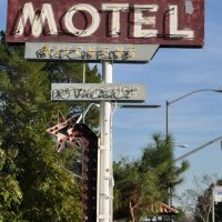 La Crescenta Motel Sign, Ла-Крескента