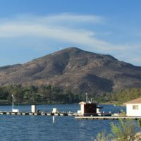 Cowles Mtn. from Lake Murray, Ла-Меса