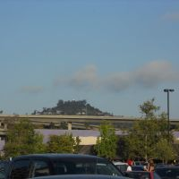 Mount Helix from Grossmont Center, Ла-Меса