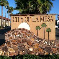 La Mesa City Sign, Ла-Меса