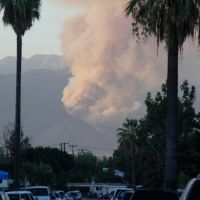 San Gabriel Mountain Fire, 23rd  Sep. 2013, Ла-Пуэнте