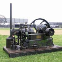 Richard Hornsby Engine at the Sonora High School FFA Car Show, Ла-Хабра