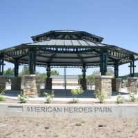 American Heroes Park in Lancaster, South Gazebo, Ланкастер