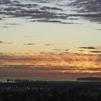 San Diego sunset from La Mesa, Лемон-Гров