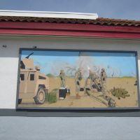 Desert Storm Mural in Lompoc, California, Ломпок
