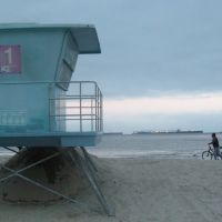 Lifeguard tower one @ Alamitos Beach, Лонг-Бич