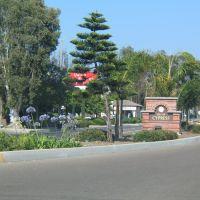 City of Cypress marker, Лос Аламитос