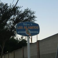 City of Los Alamitos sign, Лос Аламитос