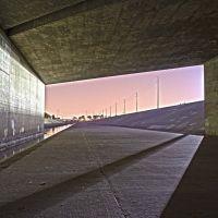 605 Overpass at Night, Лос Аламитос