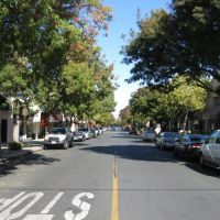 Los Altos: State At 2nd Looking North, Лос-Альтос