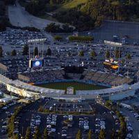 Dodger Stadium aerial, Лос-Анжелес