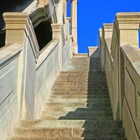 Stairs at the 4th Street Bridge ...07.15.07, Лос-Анжелес