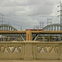 6th Street Bridge from 4th Street - Los Angeles ...01.06.08.©.rc, Лос-Анжелес